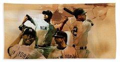 New York Yankees  Beach Towel by Gull G