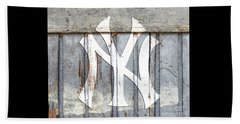 New York Yankees Rustic 2 Beach Towel