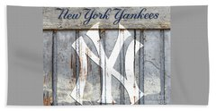 New York Yankees Rustic Beach Towel