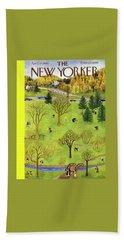 New Yorker April 22 1950 Beach Towel