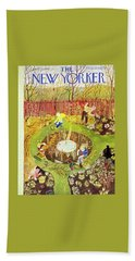 New Yorker April 23 1949 Beach Towel