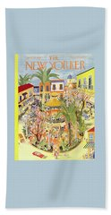 New Yorker April 25 1953 Beach Towel