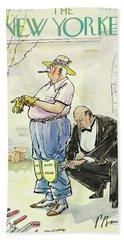 New Yorker April 26 1941 Beach Towel