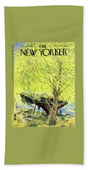 New Yorker April 26 1952 Beach Towel