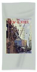 New Yorker April 27 1957 Beach Towel