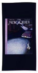 New Yorker April 4 1953 Beach Towel