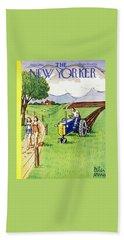 New Yorker August 2 1952 Beach Towel