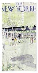 New Yorker August 28 1954 Beach Towel