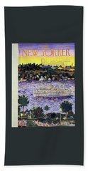 New Yorker August 31 1957 Beach Towel