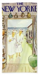 New Yorker August 6 1949 Beach Towel