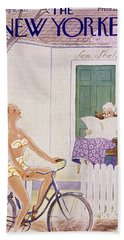New Yorker August 6 1955 Beach Towel