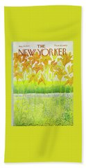 New Yorker Cover August 26 1972  Beach Towel