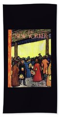 New Yorker December 12 1953 Beach Towel