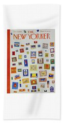 New Yorker December 13 1958 Beach Towel