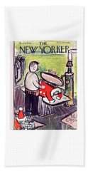New Yorker December 17 1949 Beach Towel