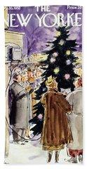 New Yorker December 20 1952 Beach Towel