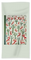 New Yorker December 21 1957 Beach Towel