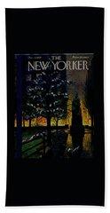 New Yorker December 5 1959 Beach Towel