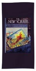 New Yorker February 03 1962 Beach Towel