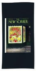 New Yorker February 14 1953 Beach Towel
