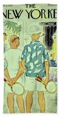 New Yorker February 9 1957 Beach Towel