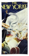 New Yorker January 12 1946 Beach Towel