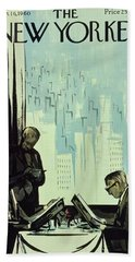New Yorker January 16 1960 Beach Towel