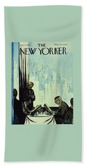 New Yorker January 16 1960 Beach Towel