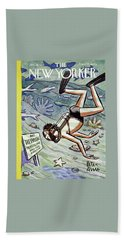 New Yorker January 28 1956 Beach Towel