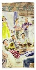 New Yorker January 7 1950 Beach Towel