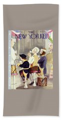New Yorker July 1 1950 Beach Towel