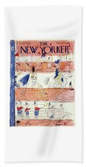 New Yorker July 2 1949 Beach Towel