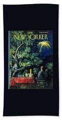 New Yorker July 2 1960 Beach Towel