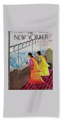New Yorker July 22 1961 Beach Towel