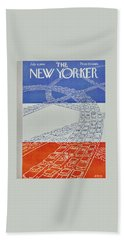 New Yorker July 4 1959 Beach Towel