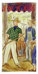 New Yorker June 11 1949 Beach Towel