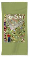 New Yorker June 13 1953 Beach Towel
