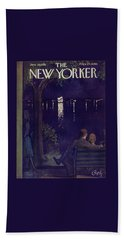 New Yorker June 28 1958 Beach Towel