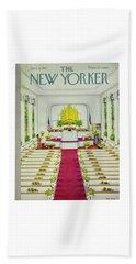 New Yorker June 8 1957 Beach Towel