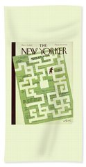 New Yorker March 15 1947 Beach Towel