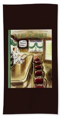 New Yorker March 19, 1955 Beach Towel