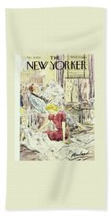 New Yorker March 21 1953 Beach Towel