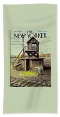 New Yorker March 26 1960 Beach Towel
