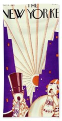 New Yorker March 6 1926 Beach Towel