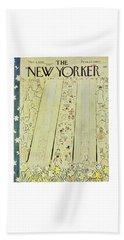 New Yorker March 8 1958 Beach Towel