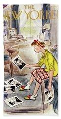 New Yorker May 24 1952 Beach Towel