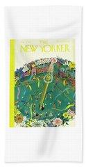New Yorker May 3 1941 Beach Towel