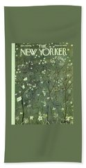 New Yorker March 30 1957 Beach Towel