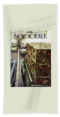 New Yorker November 17 1956 Beach Towel