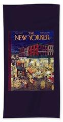 New Yorker November 23 1957 Beach Towel
